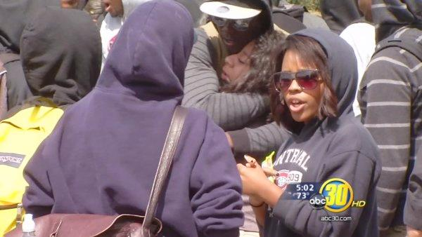 FCC students wear hoodies to honor Trayvon Martin