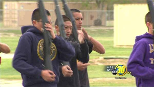 Lemoore High School's NJROTC team headed to Navy Nationals