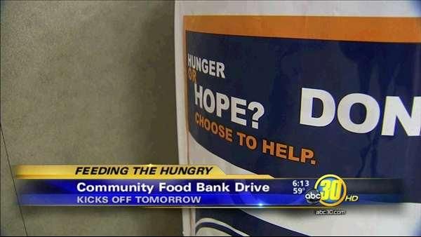 ABC30 teaming up to help feed the hungry