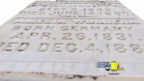 History uncovered in Mariposa cemetery