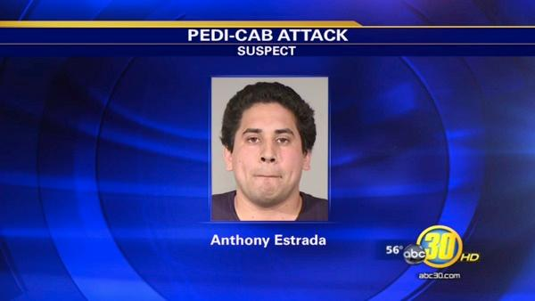 Man in custody for pedi-cab driver hit-run