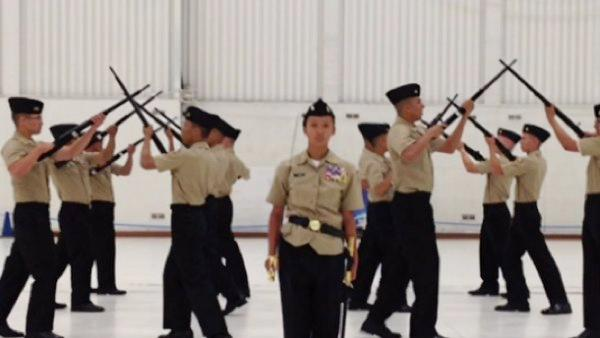 Lemoore High ROTC Team brings home award