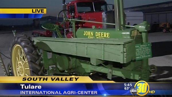 California Antique Farm Equipment Show in Tulare