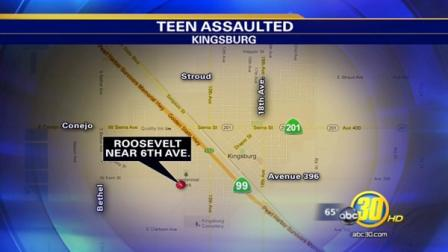 Kingsburg girl, 14, attacked in alley