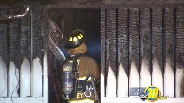 House fire in Sanger; family safe