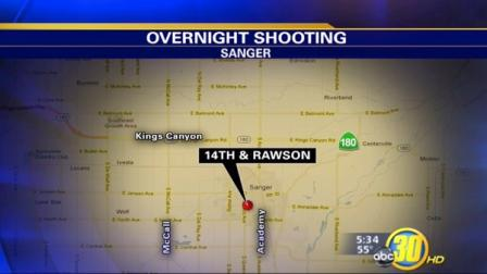 Shooting in Sanger, California sent one man to the hospital