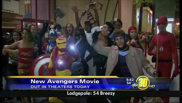 Fresno fans line up, dress up, for Avengers movie