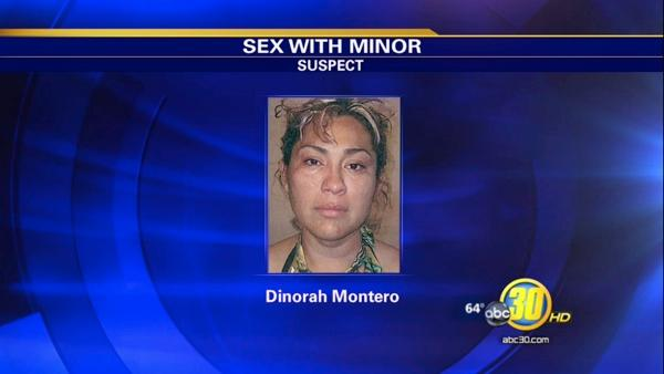Orange Cove woman accused of sex with a minor