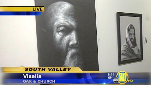 Visalia gallery hosting portrait exhibition