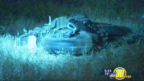Deadly motorcycle crash in Northwest Fresno
