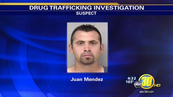Two pounds of meth stashed in a Madera home