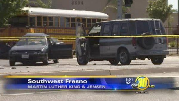 Southwest Fresno accident injures three