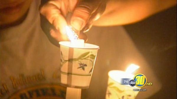 Candlelight vigil held for Selma Murder-Suicide victims