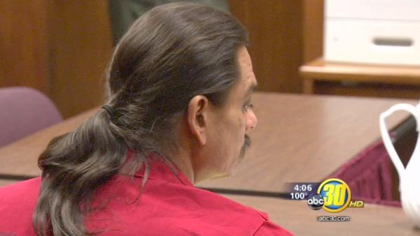 Murder trial could hinge on defendant's long hair