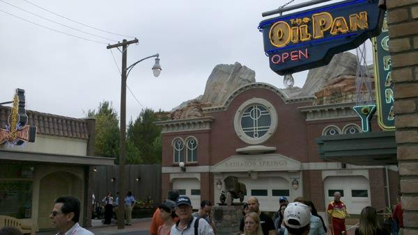 Radiator Springs Firehouse at Cars Land