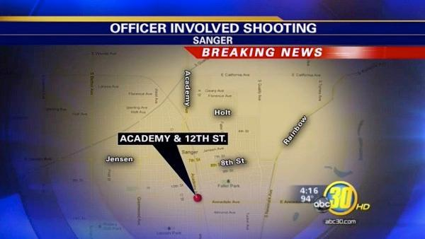 Sanger officer-involved shooting under investigation