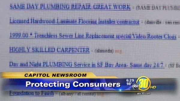 Consumers warned against hiring unlicensed contractors online