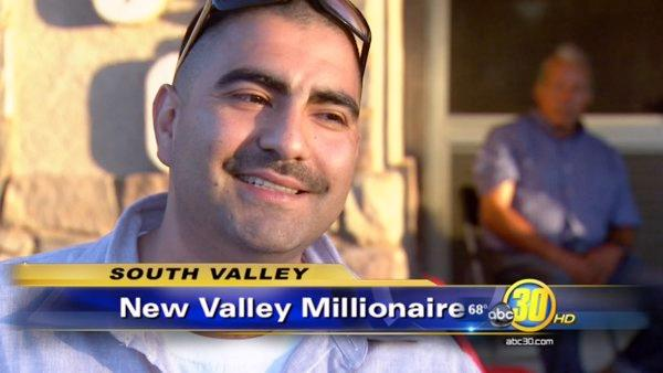 Dinuba man scratched his way to a big payday