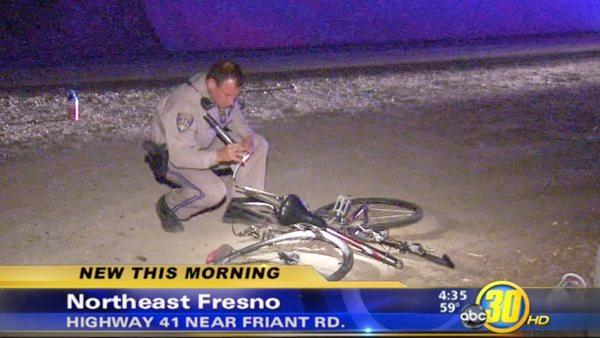 Man hit by car crossing HWY 41 in Fresno