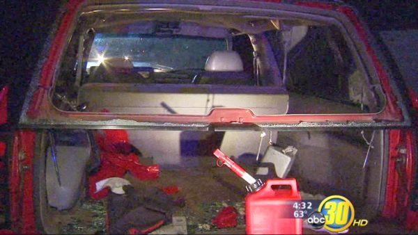 Fresno man found bound, held down, during traffic stop
