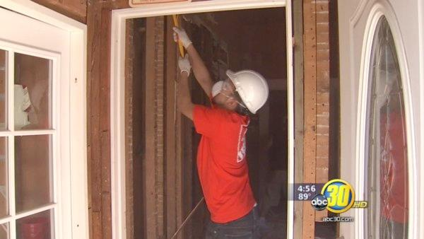 Valley veteran's home gets a makeover