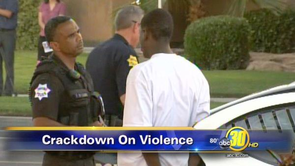 Crackdown on violence in NW Fresno