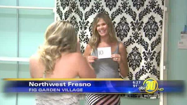 Mothers-to-be model maternity attire in Fresno