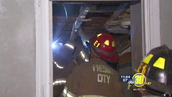 Family displaced by Central Fresno blaze