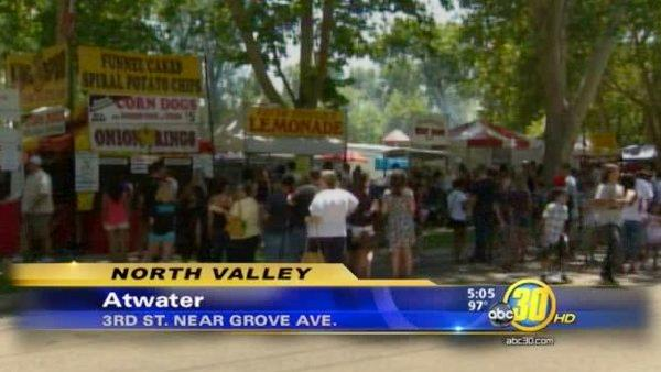 Atwater residents celebrate Fourth of July