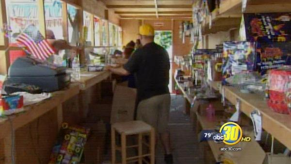 Armed robbers steal thousands from Merced church fireworks stand