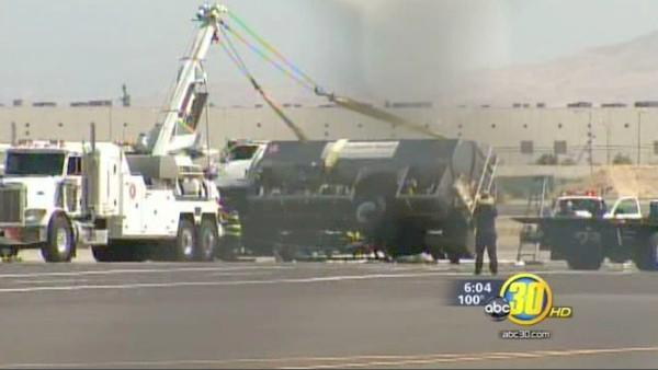 Fresno airport fuel spill keeps cleanup crews busy