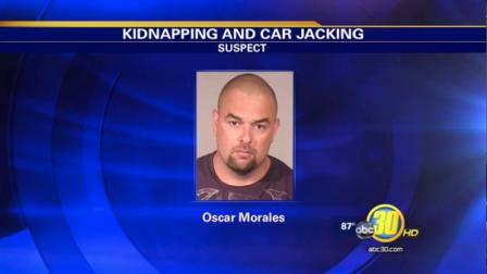 Kidnapping and carjacking suspect 36-year-old Oscar Morales