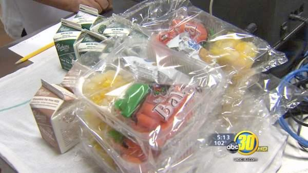 Healthier lunches for Valley students