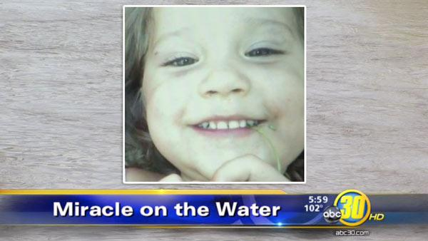 Missing Farmersville toddler found floating in canal, alive