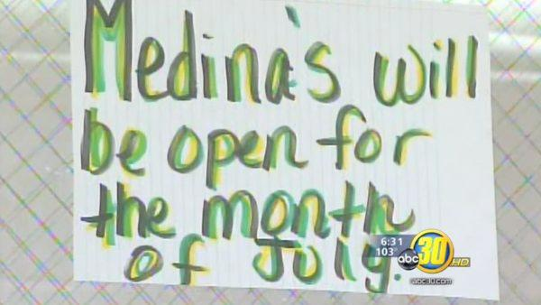 Clock is ticking for Medina's Family Restaurant