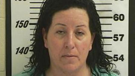 Angela Winters Hardman, accused of swallowing a diamond ring to pawn it. Courtesy Davis County Jail.
