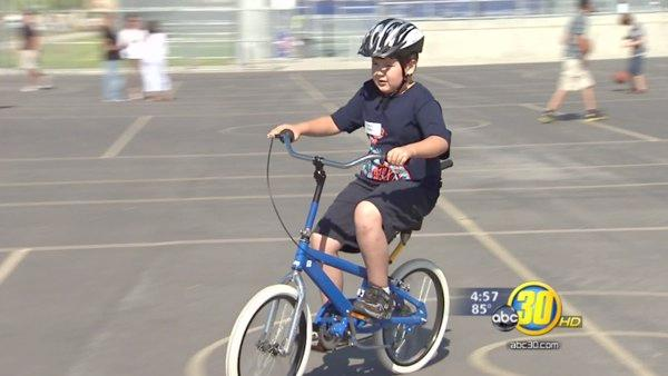 Special needs bike camp helps kids in Clovis