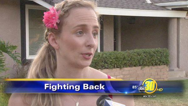 Home invasion victim fights crime in her neighborhood