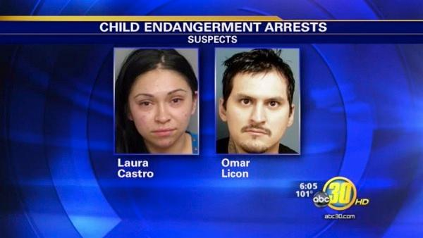 Visalia couple arrested after child found injured