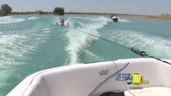 Kids with physical limitations enjoy day on water
