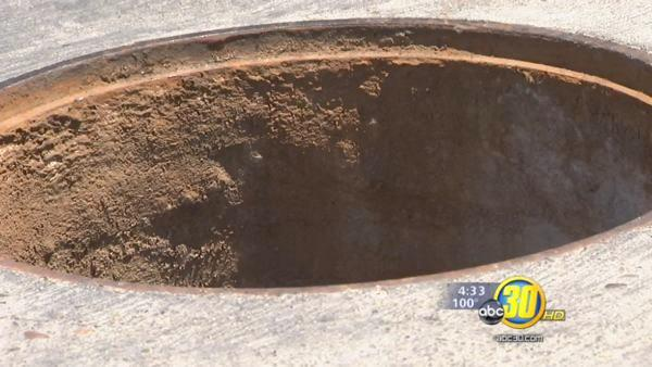 Merced sees spike in stolen manhole covers