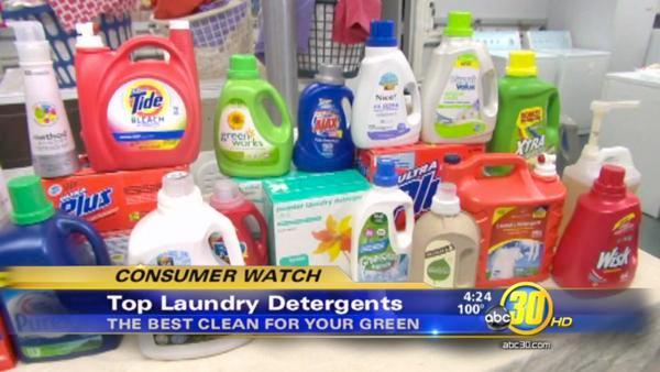 Top laundry detergents