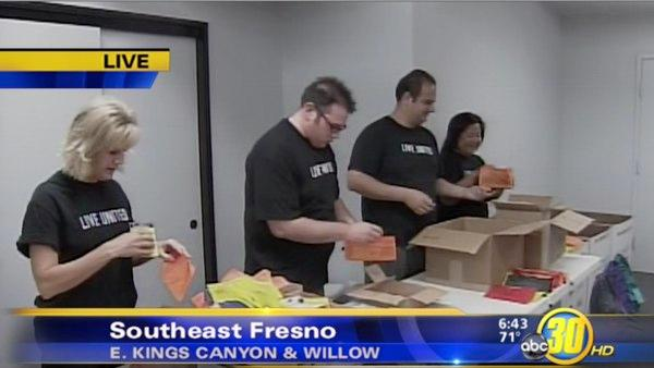 United Way, Fresno, ABC30 team up for Back to School