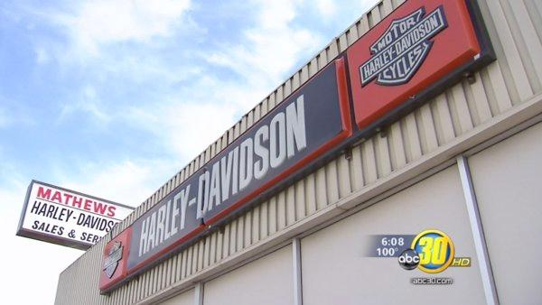 Mathews Harley Davidson grand re-opening