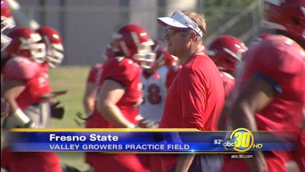 'Dogs Football Focusing on Speed in Camp