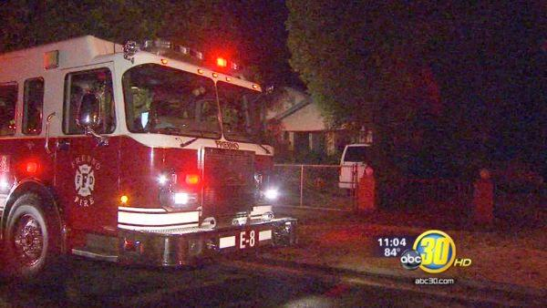 Fresno house fire injures three