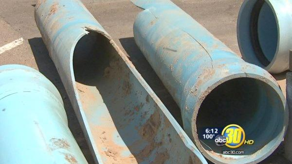 Water main break raises questions about pipes