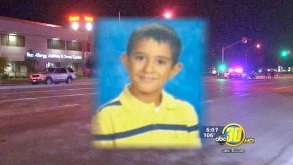 Fresno boy dead after being hit by SUV