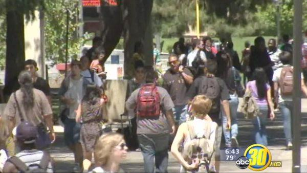 Fresno City College students head back to school