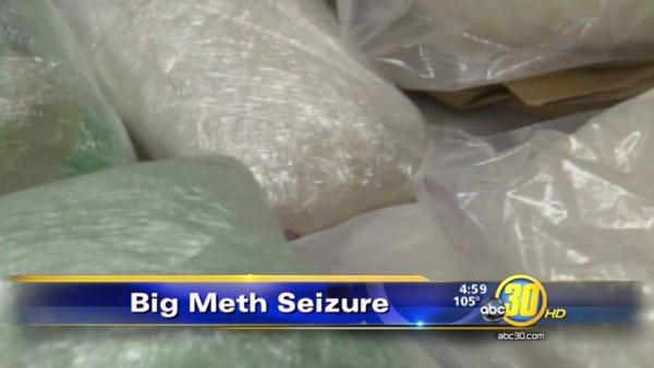 Meth bust in Merced County, 11 suspects arrested